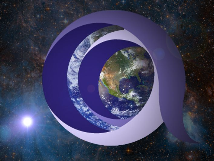 PRINCE2 logo covering the Earth