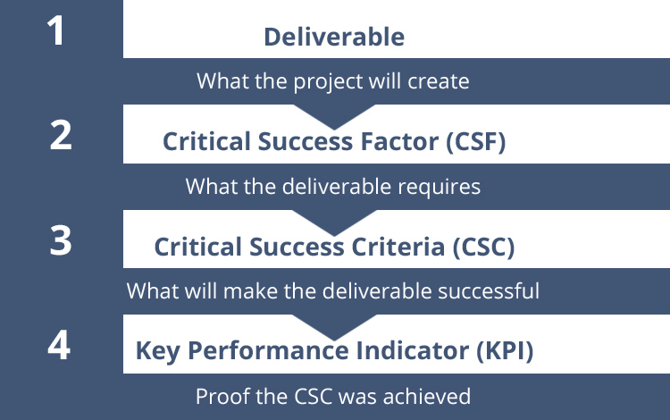 Critical success factor process